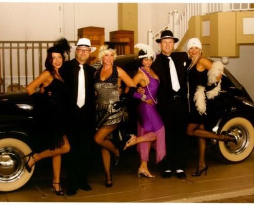 1920's Flapper Girls and their Gangster Men